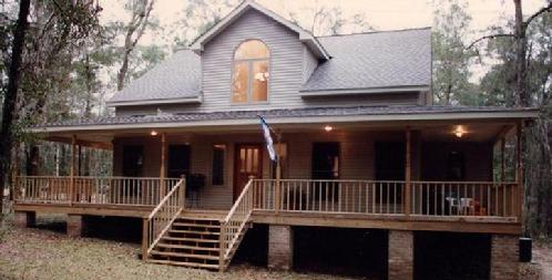 Traditional 2 story with wrap around porch