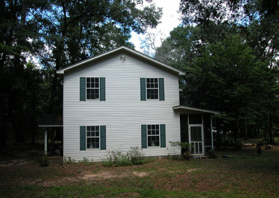 Existing house before remodeling